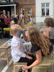 Skolegårdsfest