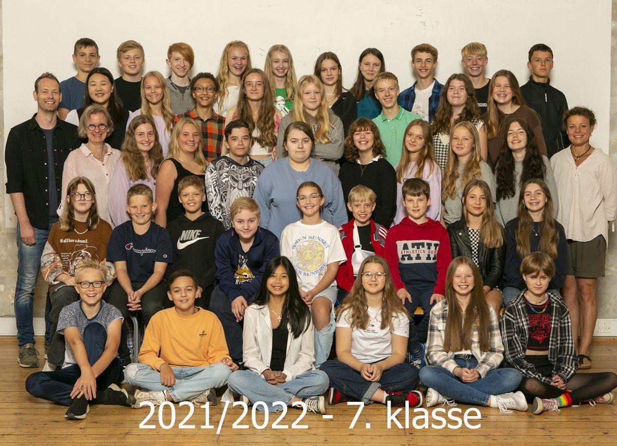 2021/2022 7. klasse