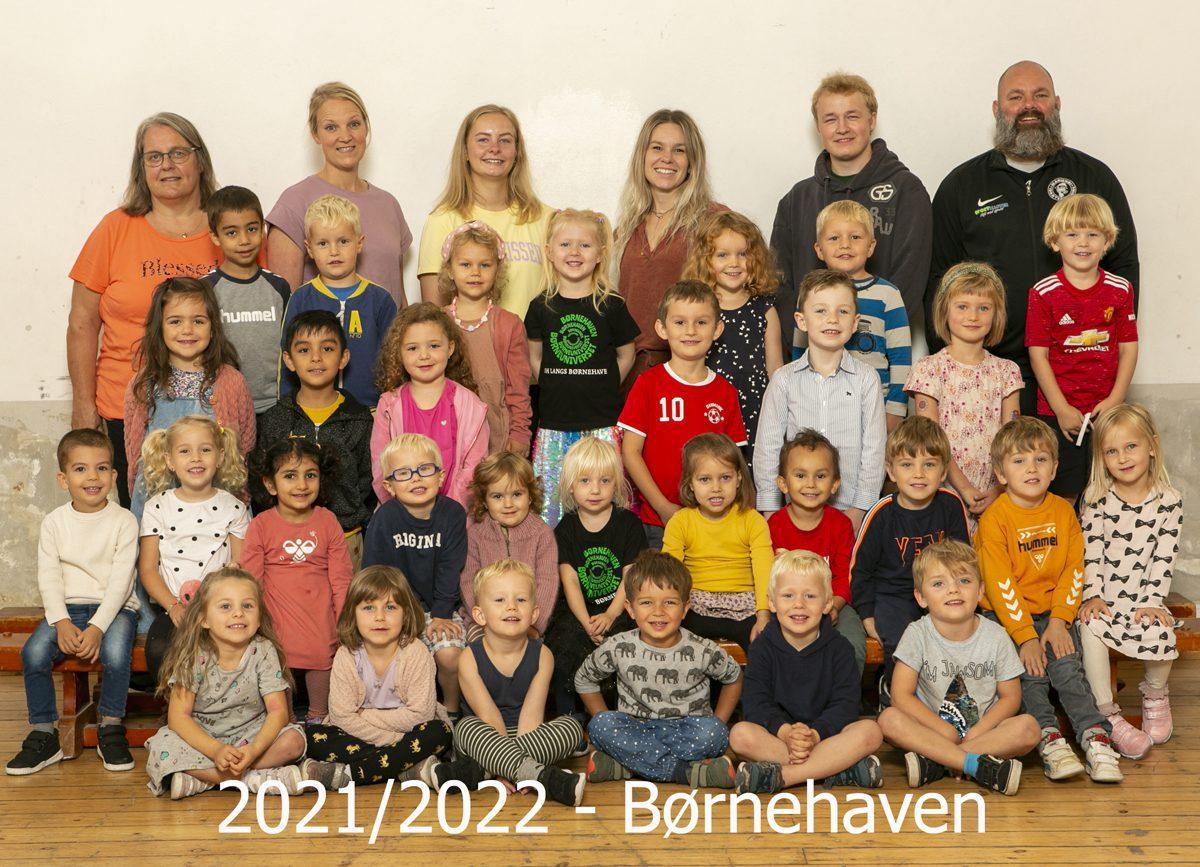 2021/2022 børnehave